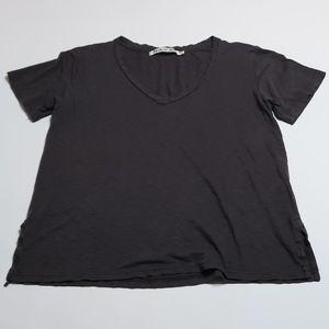 Michael Stars dark gray shirt Sz: O/S